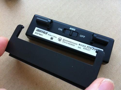 FMトランスミッター両面テープアタッチメント