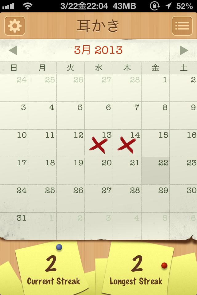 習慣化したくてカレンダーに登録していることが習慣化できない理由