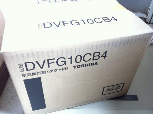 東芝浴室換気扇DVF-G10CB4