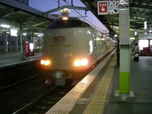 松江駅よりサンライズ出雲