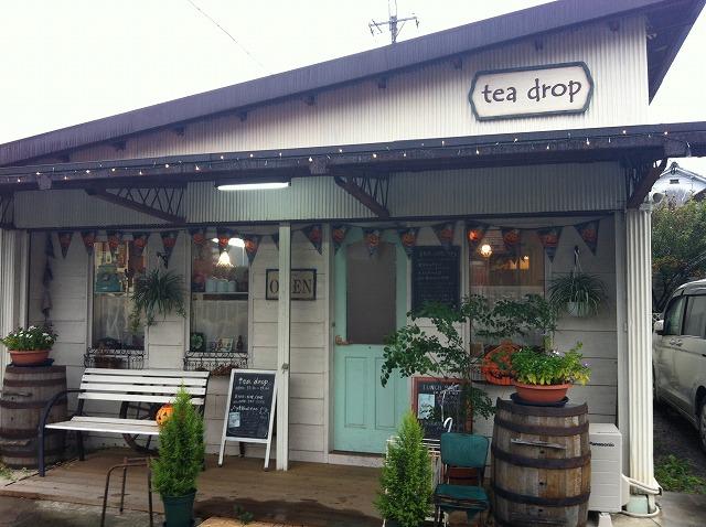 TeaDrop 埼玉県北の熊谷市妻沼にあるおすすめなカフェ