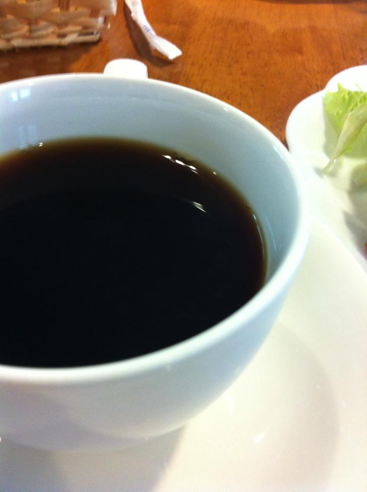 軽井沢で朝食