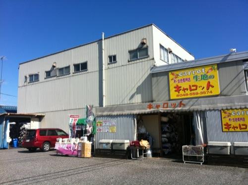行田にある生地を安く売っているキャロットで次期制作品の材料物色