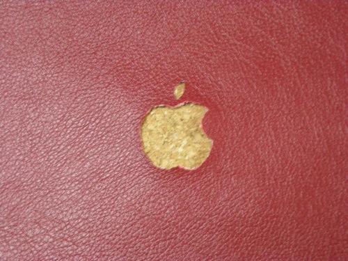 キャロットで買った合皮でMacBookのカバー自作してみました