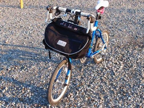 【軽度な改造】ブロンプトンSバッグの上方デッドスペースの活用#ブロンプトン