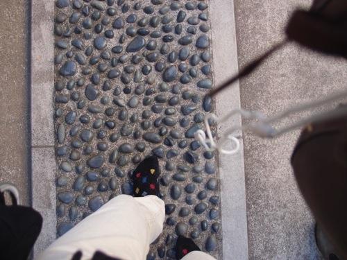 熊野神社の足踏み健康ロード