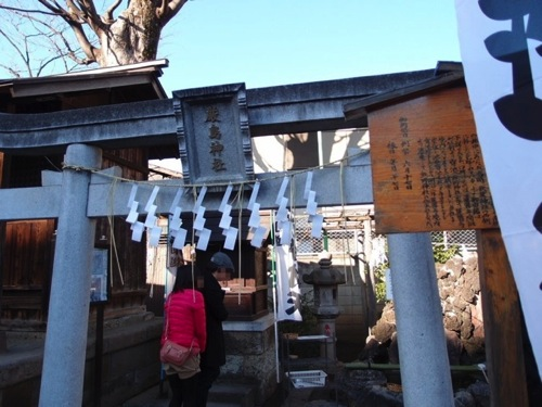 熊野神社銭洗い弁財天