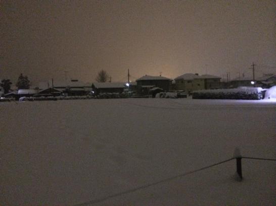 豪雪による静寂