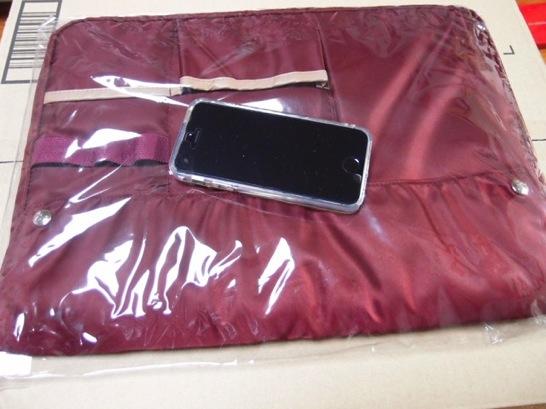 コクヨのバッグインバッグはiPadとキーボードとMacBookとバッテリー2つ飲み込める