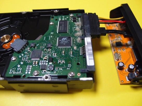 USBハードディスクケース