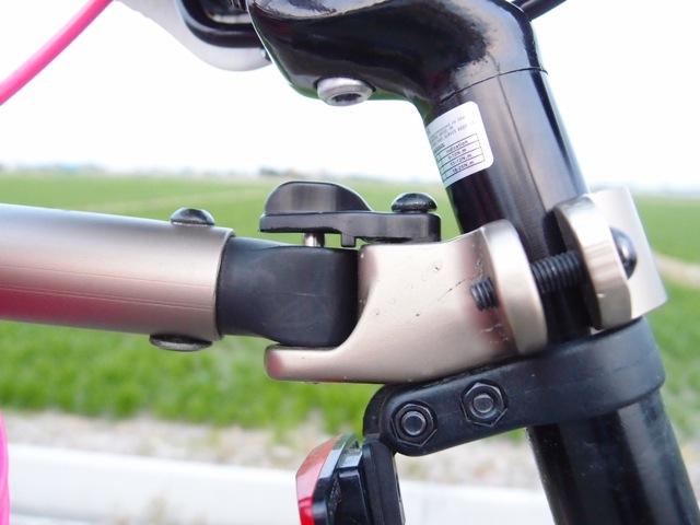 サイクルトレーラーヒッチメンバーの角度を改善する