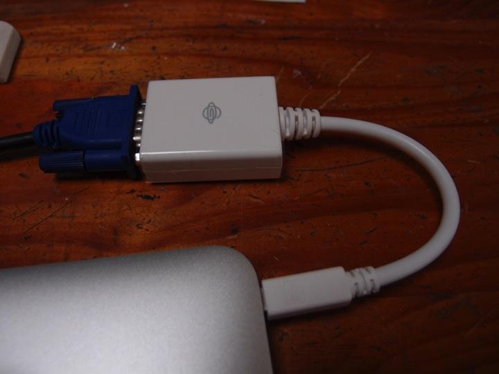XP終了で余ったディスプレイをMacに繋げよう