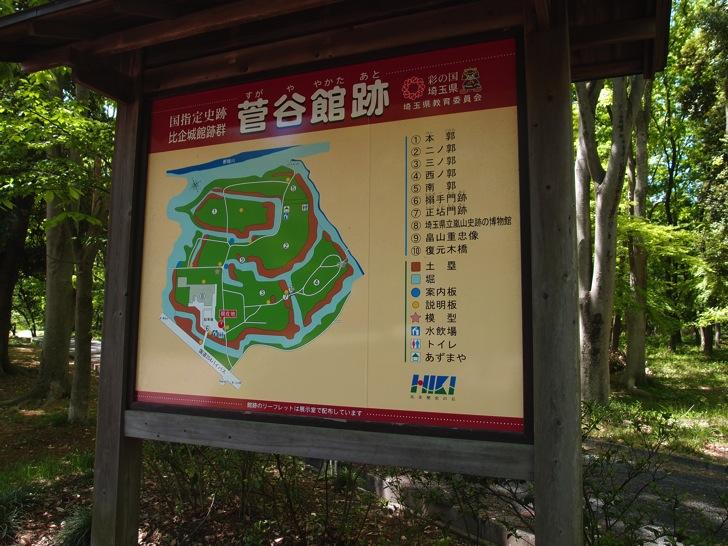 嵐山町菅谷館