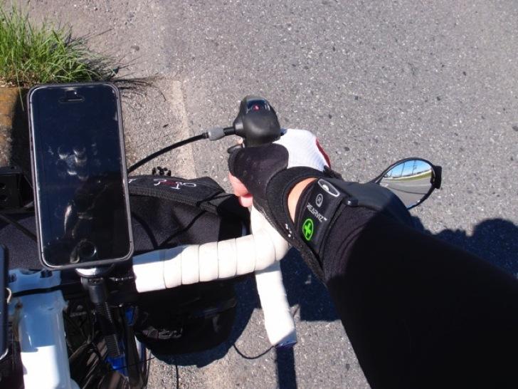 久々に天気よく風も少なめだったので30kmライド