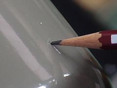 【雑学】鉛筆で塗装の硬さを測る