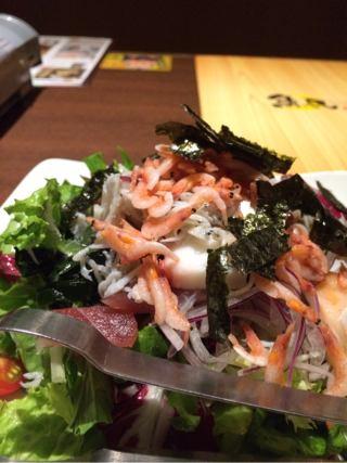魚民サラダ