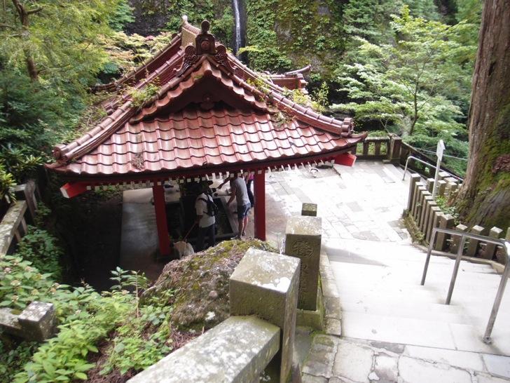 榛名神社の手水舎
