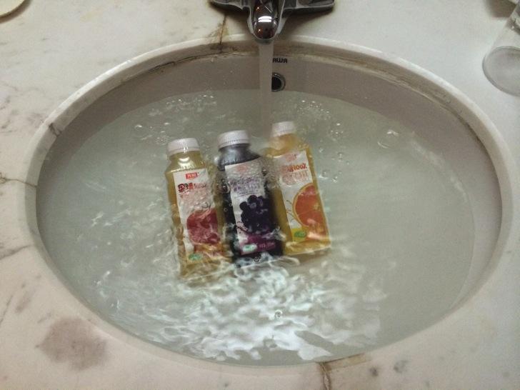 中国への飲料冷却