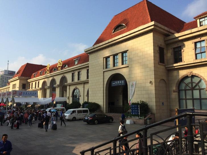 中国青島駅