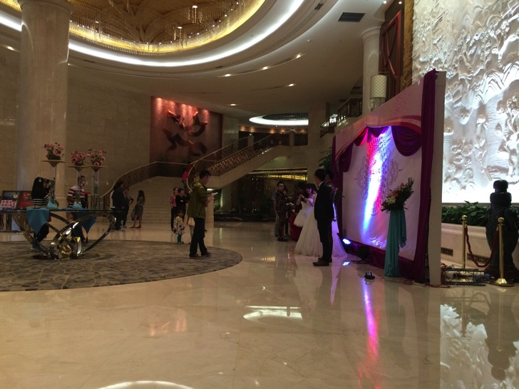 中国ホテルでの結婚式