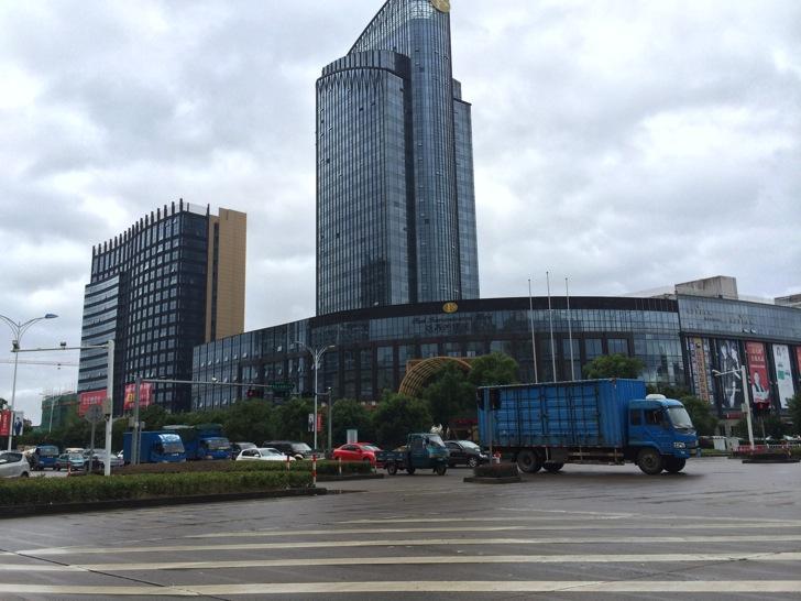 中国新昌でのホテル