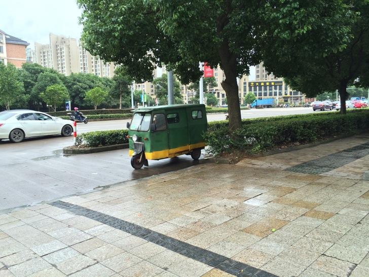 中国での自動車