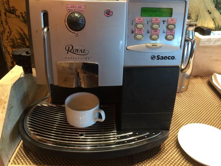 中国ホテルのコーヒーメーカー