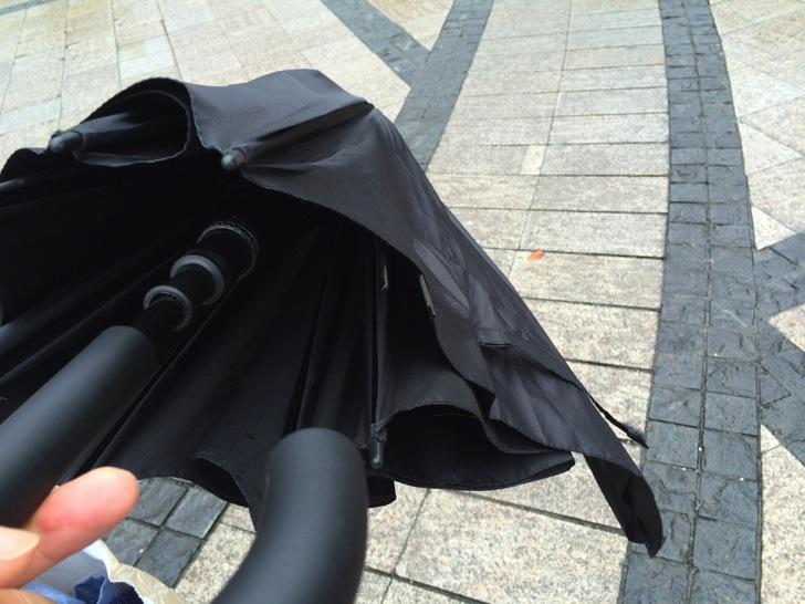 中国ホテルの貸し傘