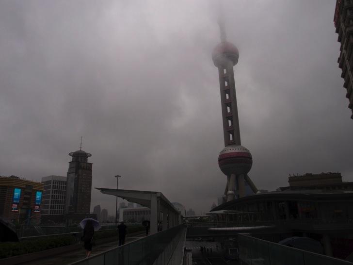 中国上海タワー