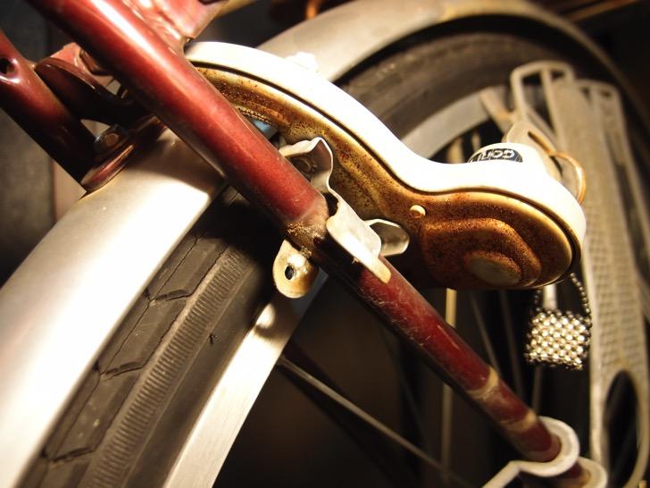 ママチャリのリング錠が錆びて取手も壊れたので交換した件