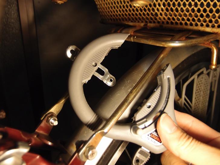 ママチャリのリング錠交換
