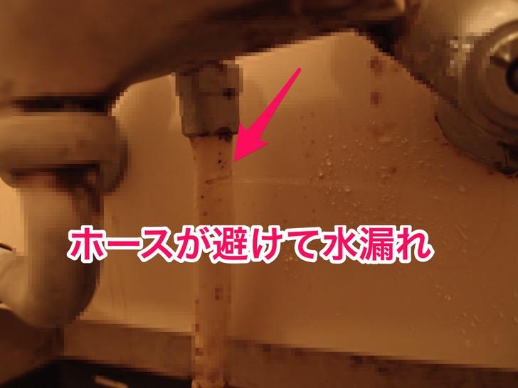 シャワーホース交換