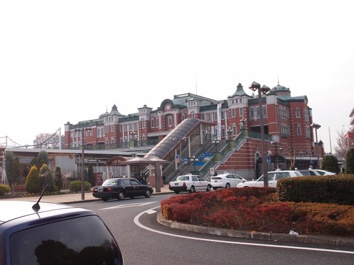 深谷駅の赤レンガ