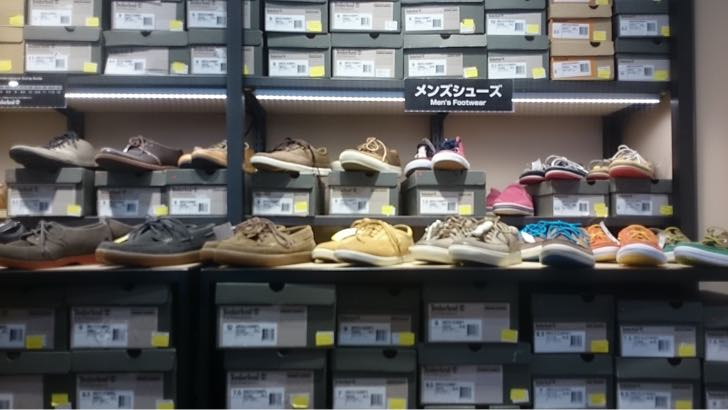 Timberlandの靴