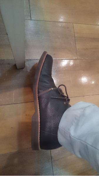買って半月程度の靴で旅行に行くべきではない