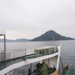広島港から猫の待っている似島へ向けてフェリーに乗って曇り空だけどテンションアゲアゲな話