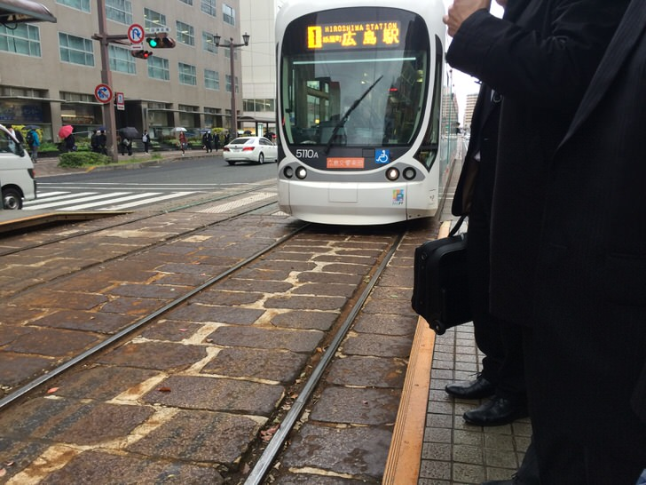 広島市の路面電車