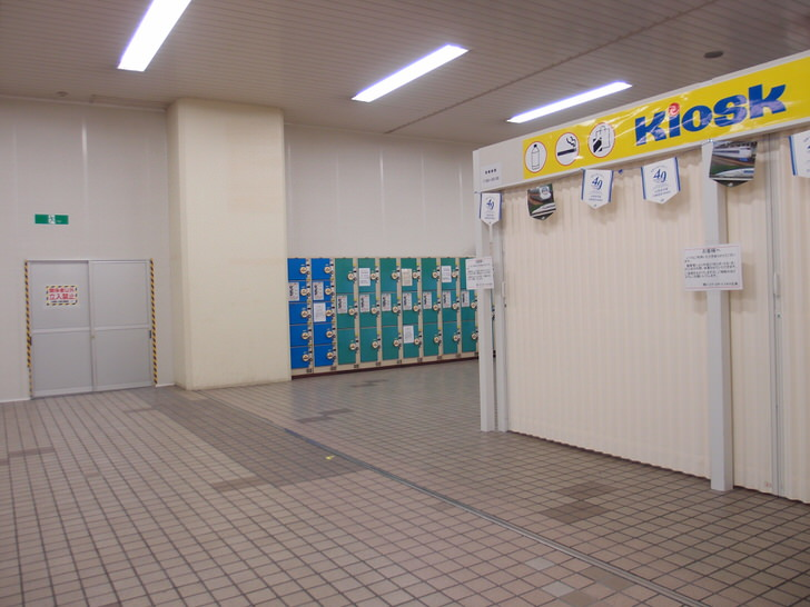 広島駅新幹線口のコインロッカー