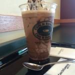 広島駅前の珈琲館でシェフオススメのカフェモカを飲みながらさらりとノマドワークで時間をつぶせる