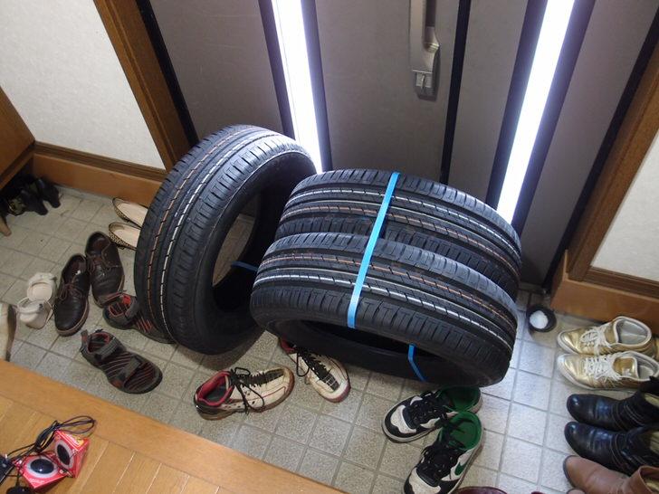 2015年5月楽天で買った夏タイヤの鮮度は7ヶ月経過