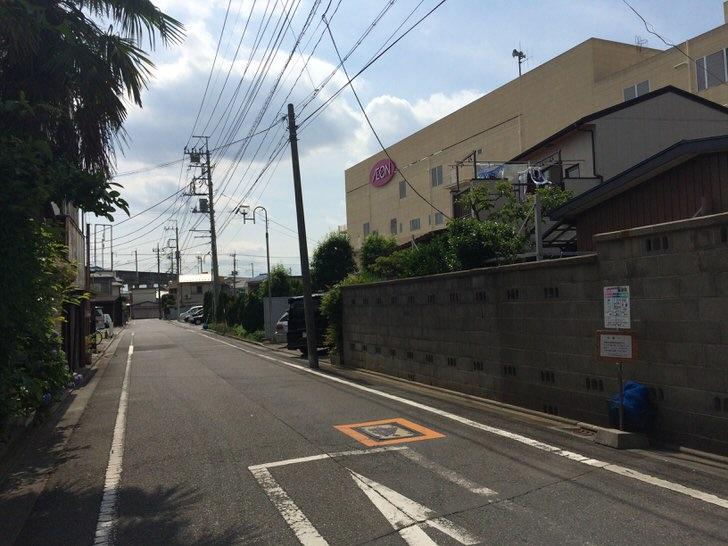 片倉工場女子寮跡地のSATY