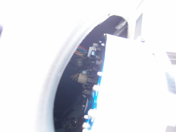 プレオスピードメーターユニットの裏側