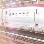 東北新幹線の怪奇現象?赤い屋根の車両に謎の板あり