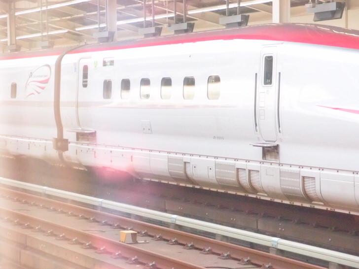 東北新幹線での謎の板