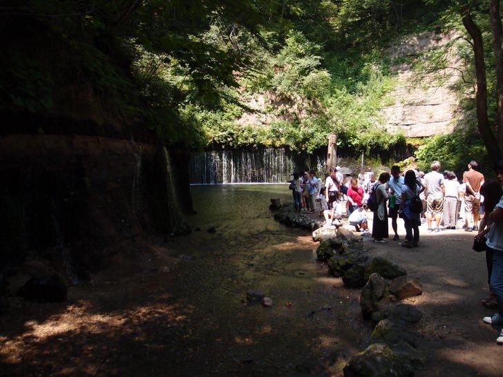 軽井沢白糸の滝