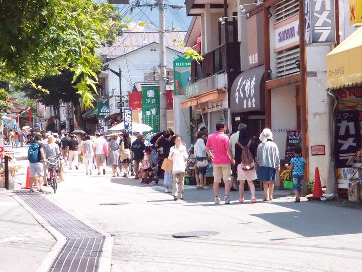 軽井沢で朝食を