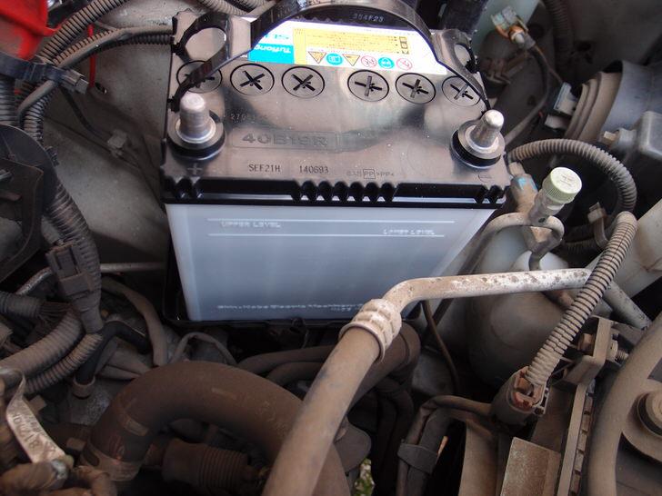 プレオRAのバッテリー交換