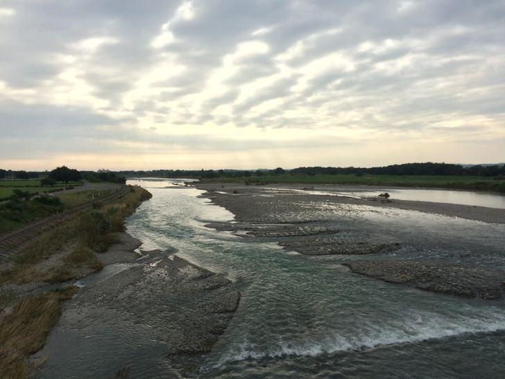 穏やかな荒川