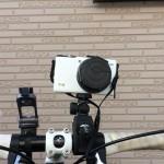 失敗した買い物/自転車ハンドル用カメラマウントは想像通り安定しないので走行中撮影はほぼムリ