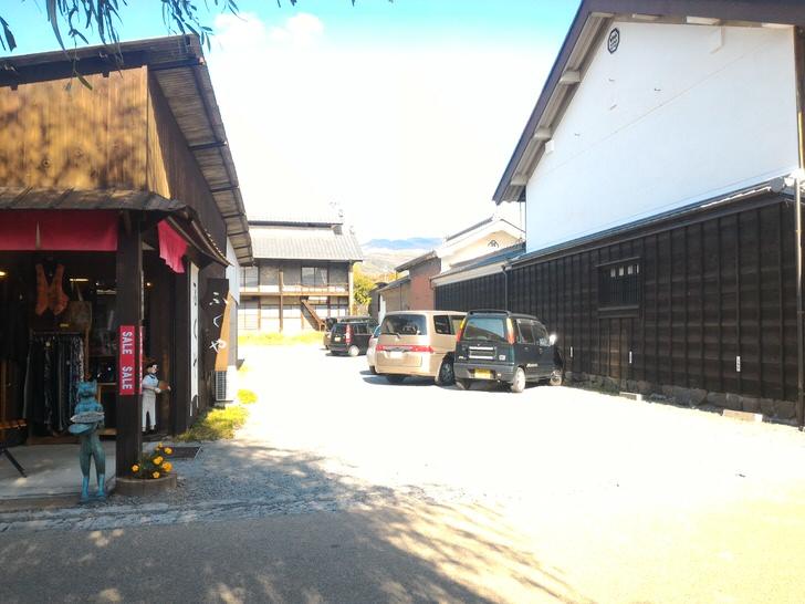 ふくやと大嶋屋の駐車場